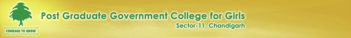 post graduate govt college for girls, sec-11, chandigarh